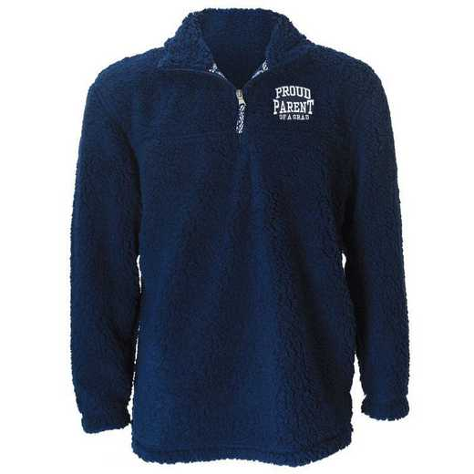 2021 Parents Sherpa 1/4 Zip Pullover, Navy