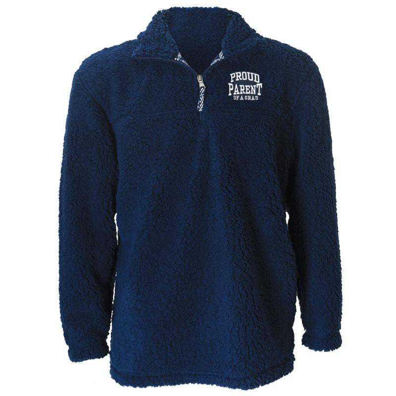 2021 Parents Sherpa 1/4 Zip Pullover, Navy