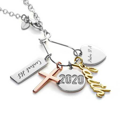 Graduation Charm Necklace by Liz James — Full Of Faith