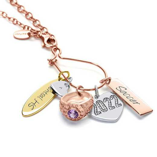 Graduation Charm Necklace by Liz James – Best In Class