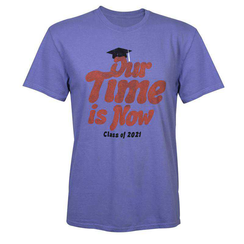 2021 Our Time Is Now T-Shirt, Purple