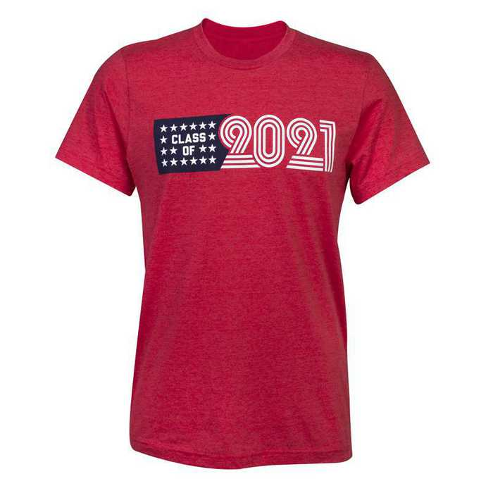 Class of 2021 American T-Shirt, Red
