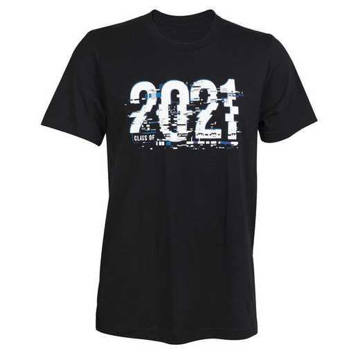 2021 Glitch T-Shirt, Black