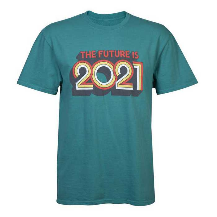 The Future Is 2021 T-Shirt, Teal