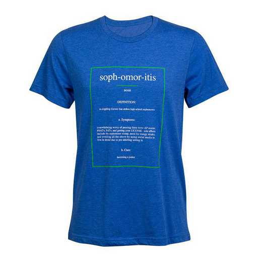 Sophmoritis 2021 T-Shirt, Blue