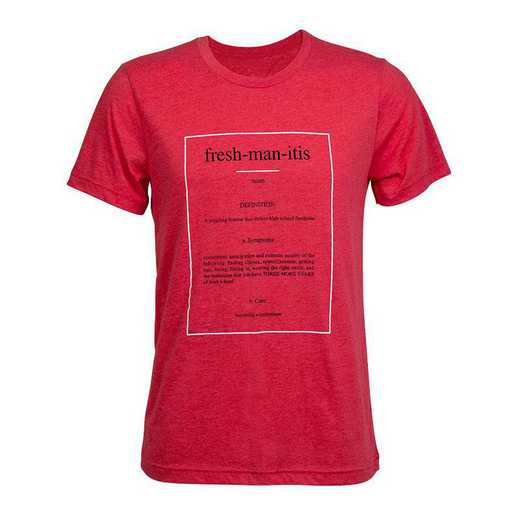 Freshmanitis 2021 T-Shirt, Red