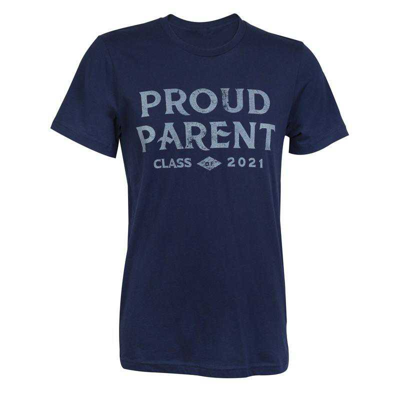 Proud Parent Class of 2021 T-Shirt, Navy