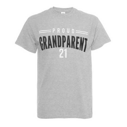 Proud Grandparent 2021 T-Shirt, Heather Grey