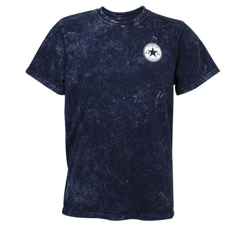 Class of 2021 Cloud Wash T-Shirt, Navy