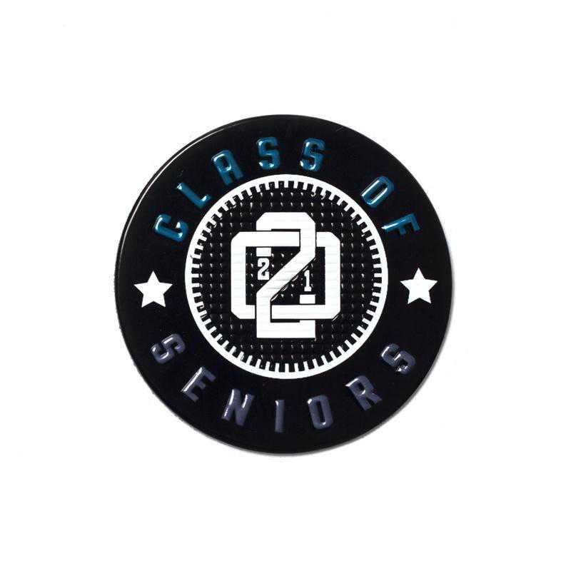 K022421: Seniors Class of 2021 EmbossTech Patch