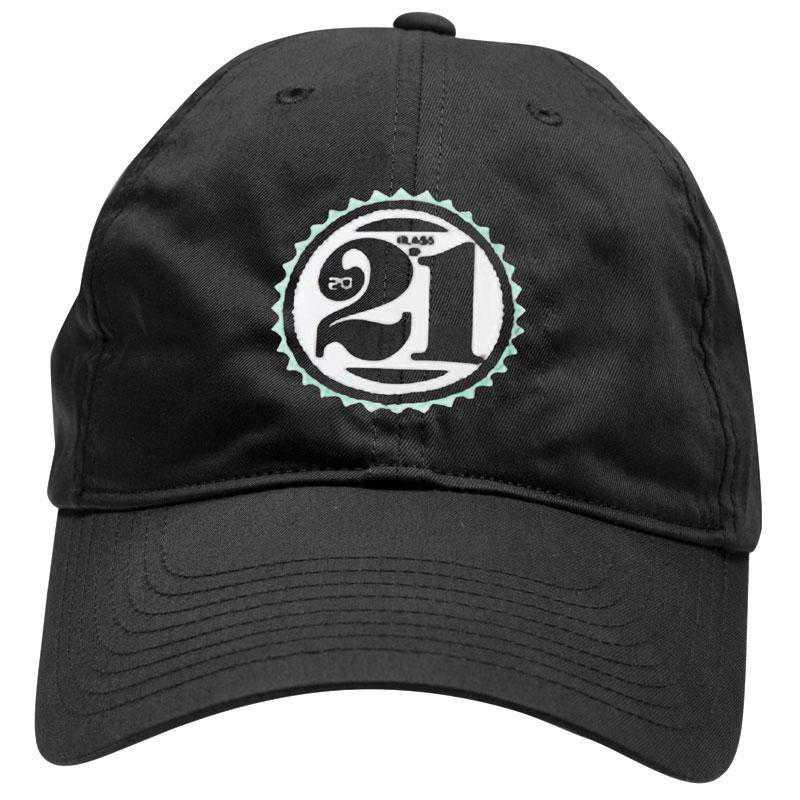 K022504: Lightweight Class of '21 Baseball Hat, Adjustable, Black