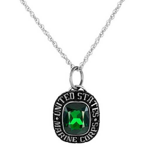 Women's Personalized Military Independence Pendant