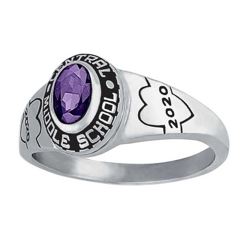 Women's JH22 Finesse Junior High Class Ring
