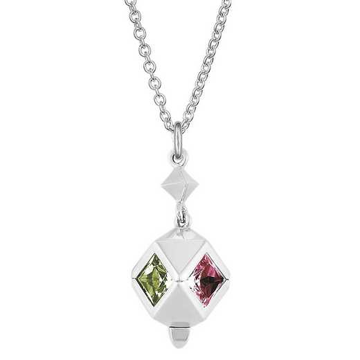 Women's Rhombus Style Personalized Pendant by Kleo