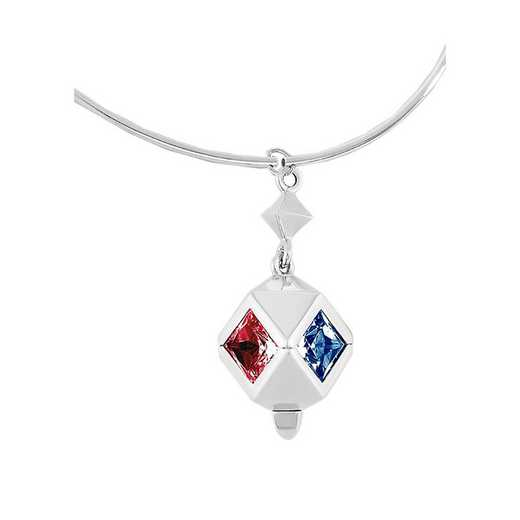 Women's Rhombus Style Personalized Tube Necklace by Kleo