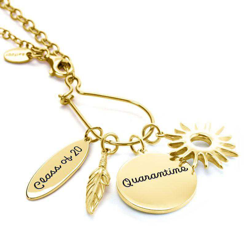 Graduation Charm Necklace by Liz James — Class of Quarantine