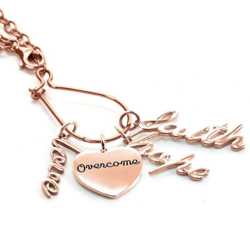 Graduation Charm Necklace by Liz James — Love Hope and Courage