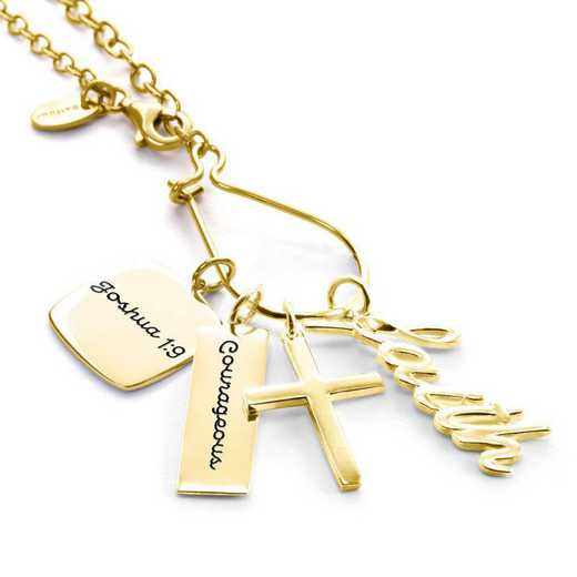 Graduation Charm Necklace by Liz James — Courage