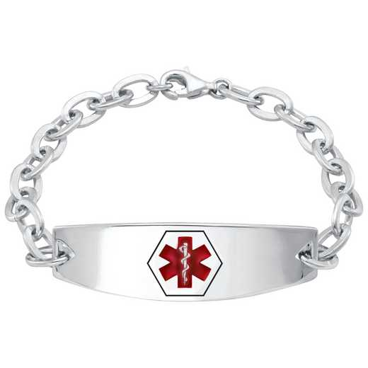 Ladies' Medical Personalized ID Bracelet