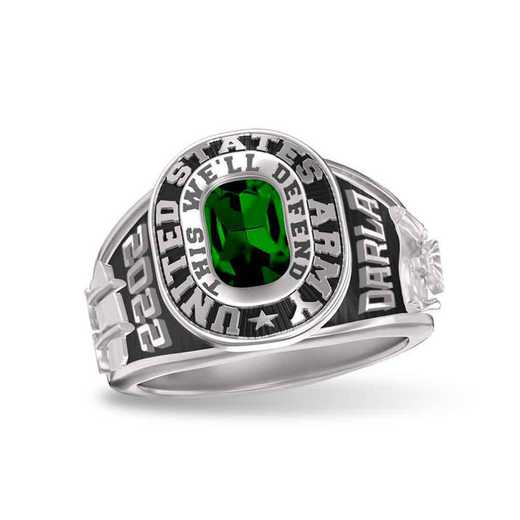 Women's Dual Rail Military Service Ring
