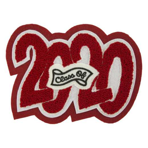 LJ1003ESCB: 4 Digit Year Date - Crazy Block - Embroidery Sash - Class Of