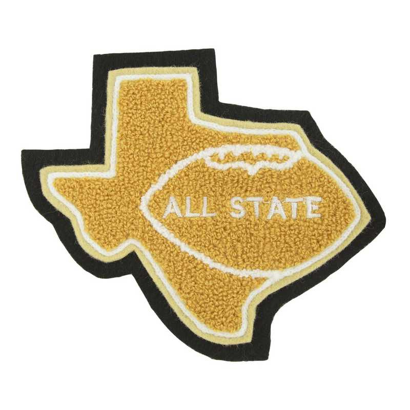 LJ1213FB: State Map With Sport Insert - Football