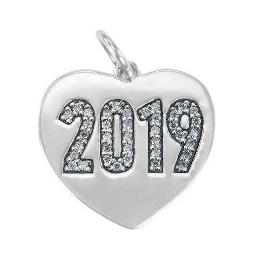 Liz James Heart Year Date Charm