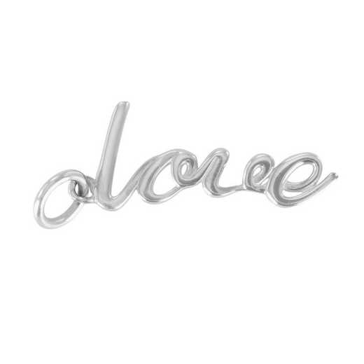 Liz James Love Script Charm