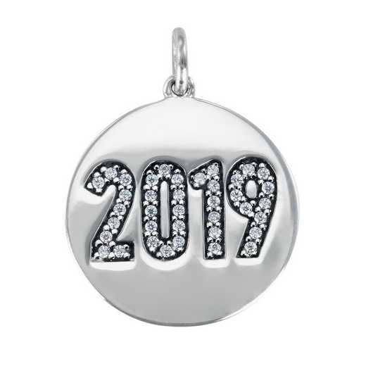 Liz James Round Year Date Charm