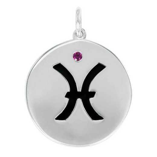 Liz James Pisces Zodiac Charm