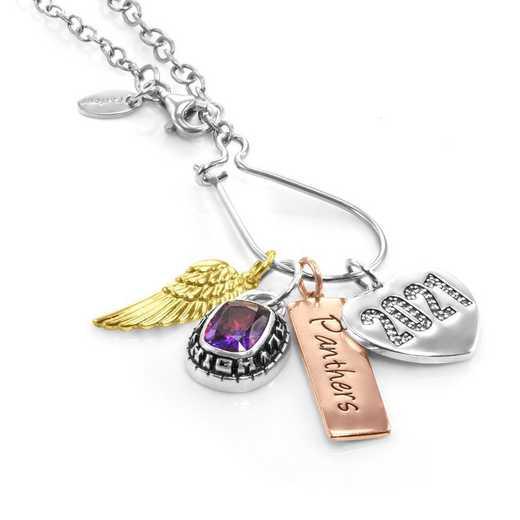 Graduation Charm Necklace by Liz James — Real Achievementt
