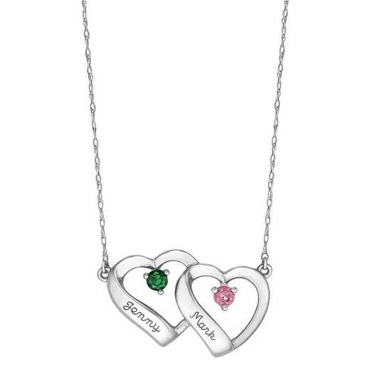 Women's Double Heart Pendant: Lyrical