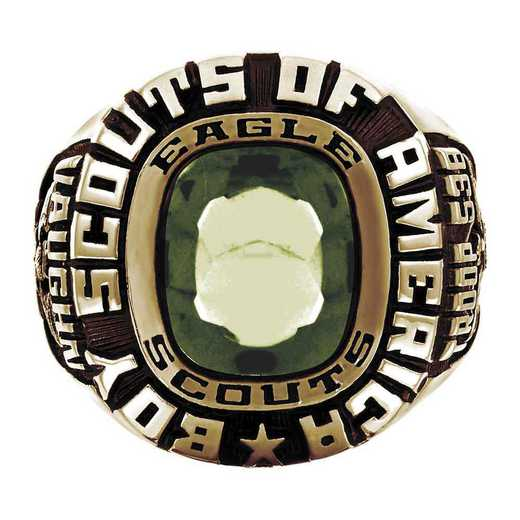 Patriot Boy Scouts of America Men's Eagle Scout Ring