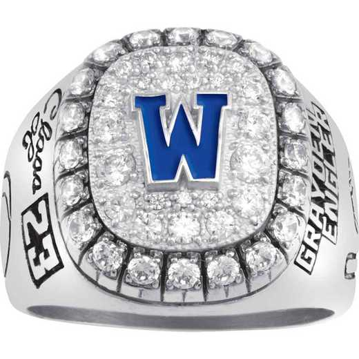 Men's Monogram All-American High School Class Ring