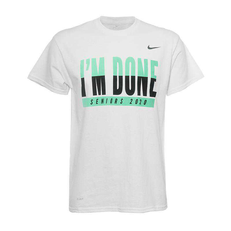Nike Men's I'm Done T-Shirt-White