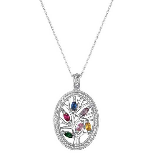 Mother's Family Tree Personalized Pendant: Origin