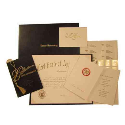 Lamar University Announcements - Deluxe Package