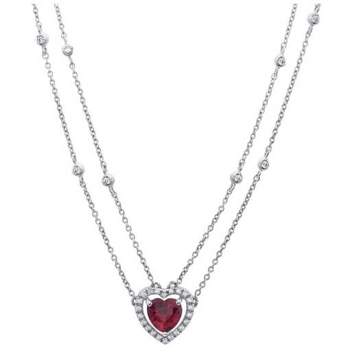 Women's Two-Strand Heart Necklace – Paramour