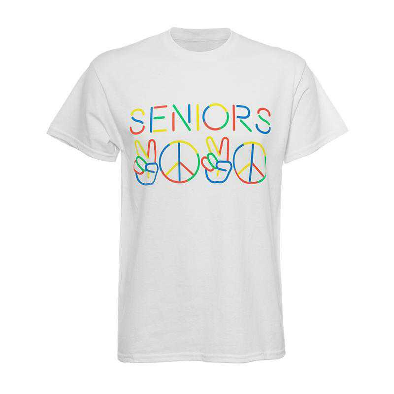 Peace Seniors 2020 T-Shirt-White