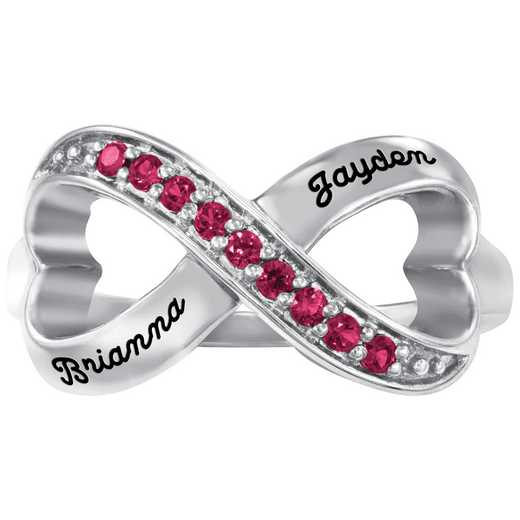 Infinity Heart Promise Ring: Perpetual