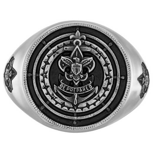 Sea Scout Quartermaster Signet Ring