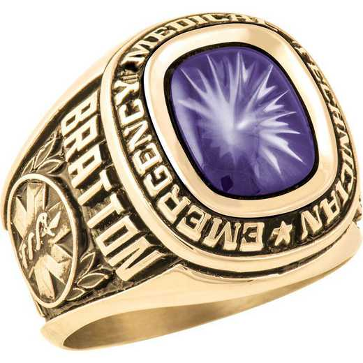 Men's EMT Service Ring - Patriot