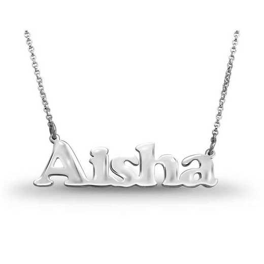 Personalized Name Necklace: Sporty