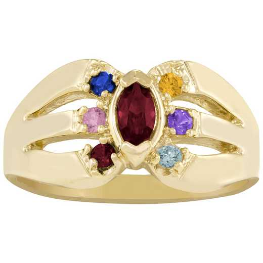Sunshine Multi-Stone Family Ring