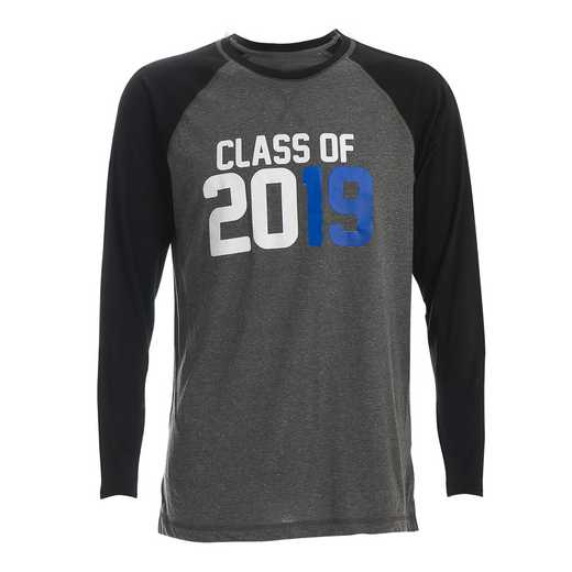 Men's Class of 2019 Raglan Long Sleeve T-Shirt