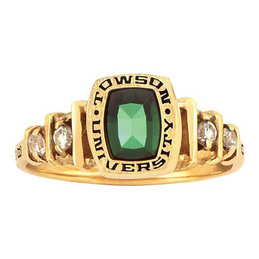 Towson University Highlight Ring - Women's