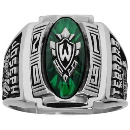 Men's Varsity High School Class Ring