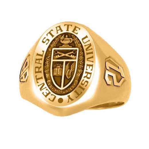 Kean University Men's Large Signet College Ring