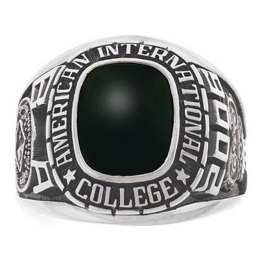 High Point University Men's Large Traditional Cushion-Cut College Ring