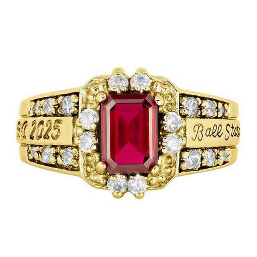 Ball State Women's Illusion College Ring